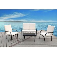 Florida 4 Piece Seating Group with Cushions