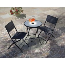 Jupiter 3 Piece Light-Up Bistro Set
