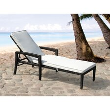 Perugia Chaise Lounge with Cushion