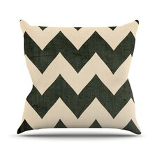 Vintage Vinyl Outdoor Throw Pillow