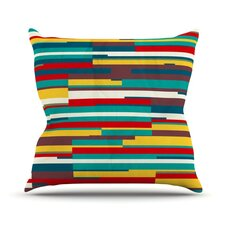 Blowmind Outdoor Throw Pillow
