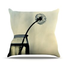 Make A Wish Outdoor Throw Pillow