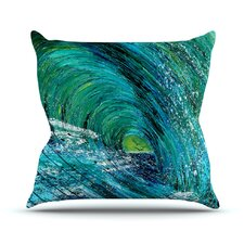 Natural High Outdoor Throw Pillow