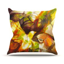 Memory Outdoor Throw Pillow