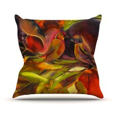 Mirrored in Nature Outdoor Throw Pillow