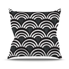Art Deco Outdoor Throw Pillow