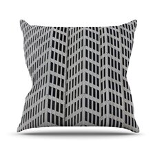 The Grid Outdoor Throw Pillow