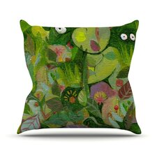 Jungle Outdoor Throw Pillow