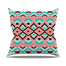 Eclectic Outdoor Throw Pillow