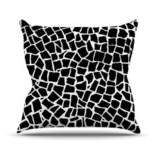 British Mosaic Outdoor Throw Pillow