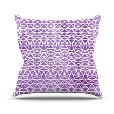 Tribal Mosaic Outdoor Throw Pillow