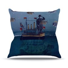 The Voyage Outdoor Throw Pillow