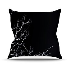 Winter Outdoor Throw Pillow