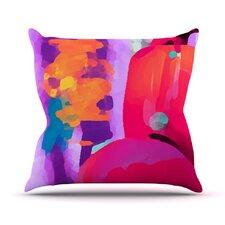 Vespa II Outdoor Throw Pillow