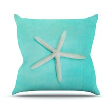 Lovely Starfish Outdoor Throw Pillow