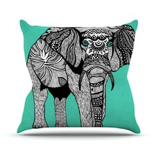 Best  Elephant of Namibia Outdoor Throw Pillow