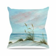 Sea Oats Outdoor Throw Pillow
