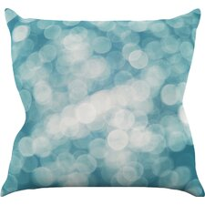 Snow Princess Outdoor Throw Pillow