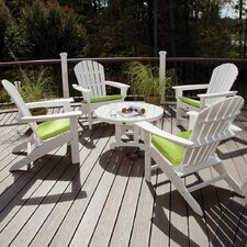 Trex Outdoor Cape Cod 5 Piece Adirondack Conversation Group