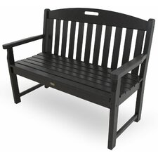 Yacht Club Polyethylene Garden Bench
