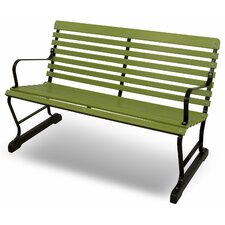 Read Reviews Vintage Steel Garden Bench