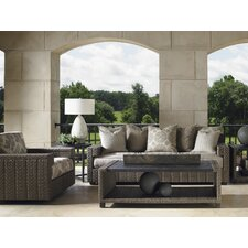 Blue Olive 4 Piece Deep Seating Group with Cushions