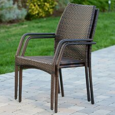 Savings Herod Stacking Dining Arm Chair (Set of 2)