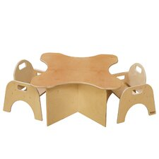 Tot Transition Kids Square Table