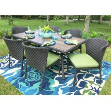 Purchase Elaine 7 Piece Dining Set with Cushions