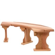 Wood Tree Bench