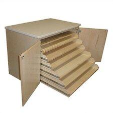 Paper Classroom Cabinet with Doors
