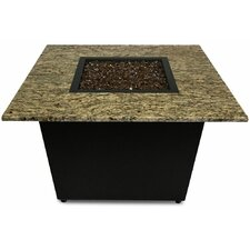 The Venetian Granite Gas Fire Pit Table