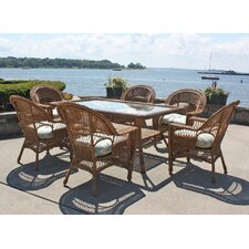 Madison 7 Piece Dining Set with Cushion