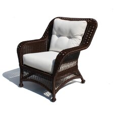 Princeton Outdoor Wicker Deep Seating Chair with Cushions