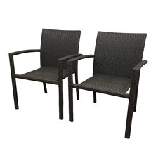 Sonoma Stacking Dining Arm Chair (Set of 2)