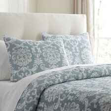 Alice Blue Quilted Bedding Collection