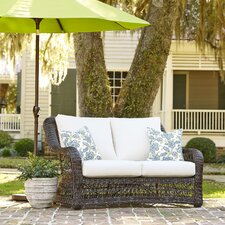 Rosemead Wicker Loveseat with Sunbrella? Cushions