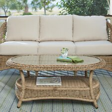 Lynwood Wicker Coffee Table
