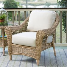 Lynwood Wicker Chair with Sunbrella? Cushions