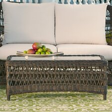 Rosemead Wicker Coffee Table