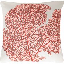 Coral Escape Throw Pillow (Set of 2)