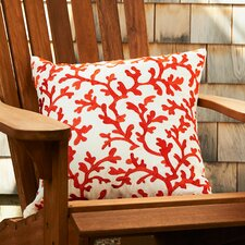 Covered in Coral Throw Pillow (Set of 2)
