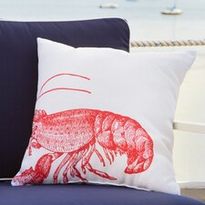 Red Lobster Outdoor Pillow