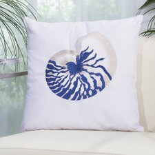 Coupon Emilia Seashell Shoreline Embroidered Pillow Cover