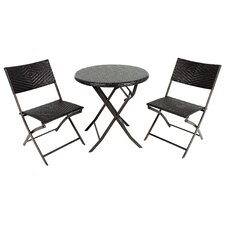 No Copoun 3 Piece Bistro Set