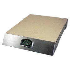 Pizza Stone Grill with Thermometer