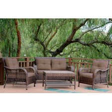 Cromwell 4 Piece Seating Group with Cushion