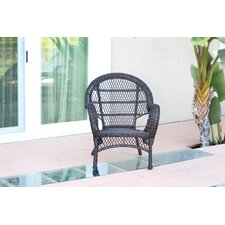 Wicker Armchair Chair (Set of 4)