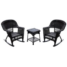 Discount Wicker Rocking Chair (Set of 2)