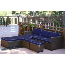 Saint Helena 5 Piece Deep Seating Group Set